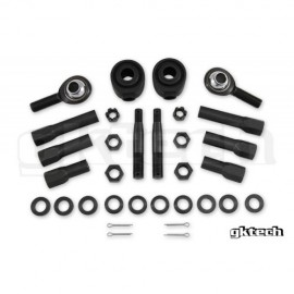 Gktech High misalignment (64 degrees) tie rod ends (14mm)