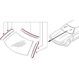 Nissan OEM - Moulure de pare-brise pour Skyline R32