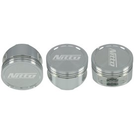 "NITTO - EJ25 2.6L STROKER PISTONS SET - 100.0MM (+.020"") (SUIT 130.5MM ROD) -20cc DISH"