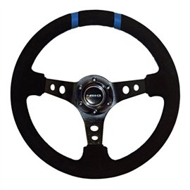 "NRG - 350mm Suede Sport Wheel (3"" Deep)"