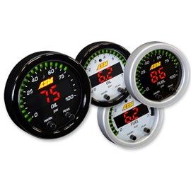 AEM X-Series Oil/Fuel Pressure Gauge