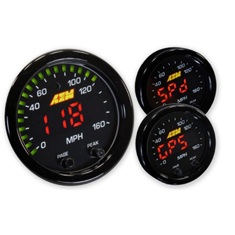 AEM X-Series Digital GPS Speedometer - Elegant Drift Shop