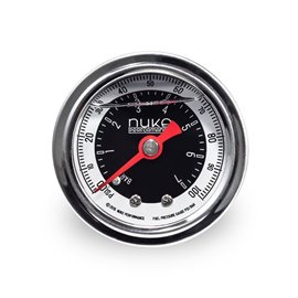 Nuke Performance - Fuel Pressure Gauge with 1/8npt thread