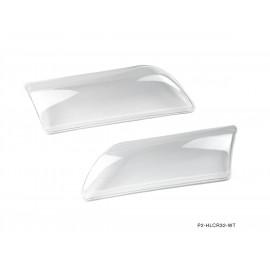 P2M NISSAN R32 JDM SKYLINE CLEAR HEADLIGHT COVERS ( Projectors )