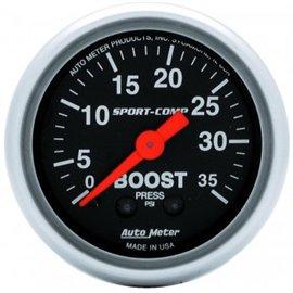 """Jauge de pression(Boost) Autometer MECH Sport-Comp 2"""""""