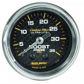 """Autometer 2"""" Boost MECH Carbon Gauge"""
