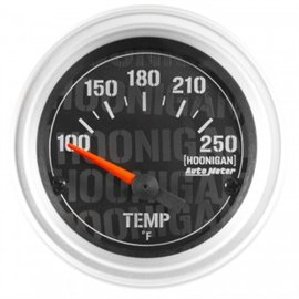 "Autometer 2-1/16"" Water Temp 100-250'F Electric HOONIGAN Gauge"