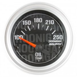 """Jauge de Température d'Huile Électrique Autometer 2-1/16"""" 100-250'F HOONIGAN"""