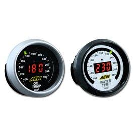 Jauge de température d'huile/transmission/eau AEM Digital 100~300F
