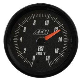 Jauge de température des gaz d'échappement AEM Analogique