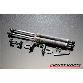 Circuit Sports - INFINITI G35 CARBON ENGINE HOOD DAMPER