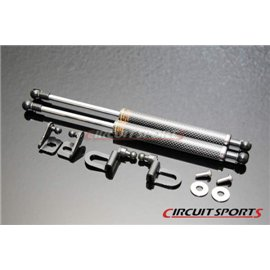 Circuit Sports - NISSAN Z33 2003-08 350Z CARBON ENGINE HOOD DAMPER