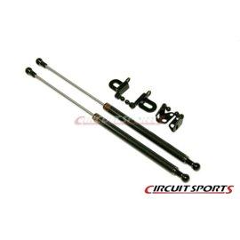 Circuit Sports - NISSAN R35 GTR CARBON ENGINE HOOD DAMPER