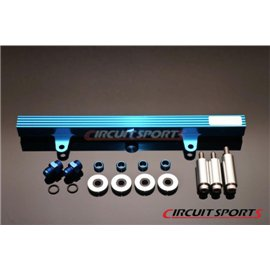 Circuit Sports - NISSAN S13 SR20DET BILLET ALUMINUM TOP FEED FUEL RAIL KIT