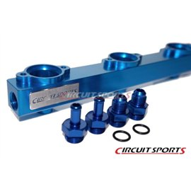 Circuit Sports - NISSAN RB25 BILLET ALUMINUM HIGH FLOW FUEL RAIL