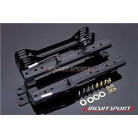 Circuit Sports - SCION FR-S / BRZ LOW STANCE SIDE MOUNT SEAT RAILS (DOUBLE LOCK)