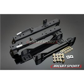 Circuit Sports - NISSAN S13/14 Rails Surbaissés pour Montage sur Côté