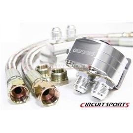 Circuit Sports - OIL FILTER RELOCATION KIT