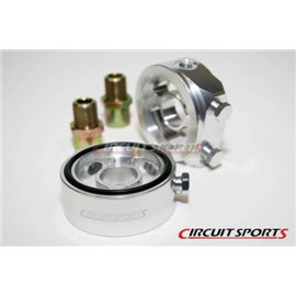 Circuit Sports - OIL FILTER SANDWICH ADAPTER (FOR 1/8NPT SENSOR/GAUGES)