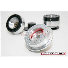 Circuit Sports - NISSAN S13/14 CNC ALUMINUM STEERING WHEEL HUB ADAPTER