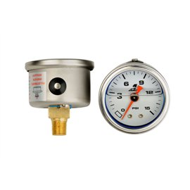 Aeromotive 0-15psi Fuel pressure Gauge