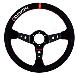 Driven Steering Deep Dish Suede