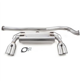 "Cobb Stainless Steel 3"" Quad Tip Exhaust Evo X 08+"