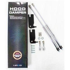 NRG - Hood Damper Kit Polished - Civic