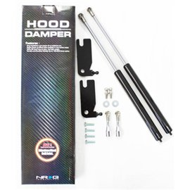 NRG - Hood Damper Kit Carbon Fiber - Civic