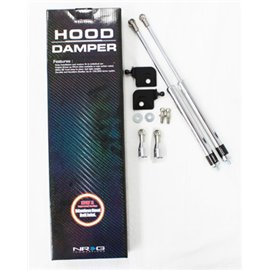 NRG - Hood Damper Kit Polished - Integra 94-01