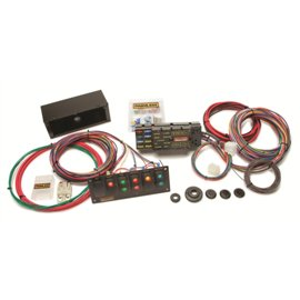 Painless 10 Circuit Chassis Harness With Switch Panel