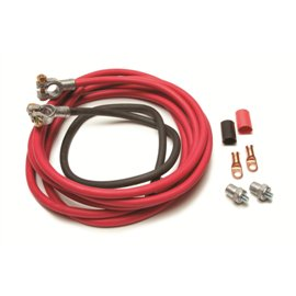 Painless Remote Battery Cable Kit 16' Red 3' Black