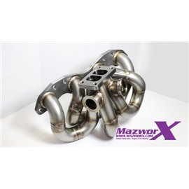 Mazworx SR20 Twin Scroll Top Mount Turbo Manifold