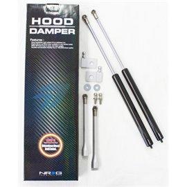 NRG - Hood Damper Kit Carbon Fiber - WRX STi 01+