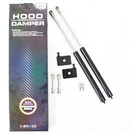 NRG - Hood Damper Kit Carbon Fiber - RX7 93-97