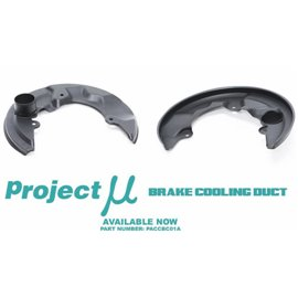 Project Mu Brake Cooling Ducts FR-S/BR-Z