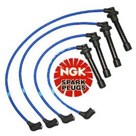 NGK Spark Plug Wires Set Miata 90-00