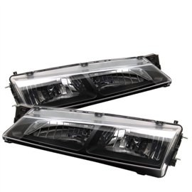 Spyder Headlight Black Housing S14 Kouki