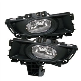 Spyder Oem Style Fog Lights Mazda 3 07-08 (Except Sport/Gt/Hatch)