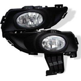 Spyder Oem Style Fog Lights Mazda 3 03-06 (Except Sport/5DR)