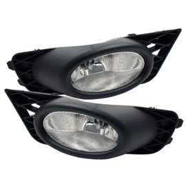 Spyder Oem Style Fog Lights Civic 09-11 4DR