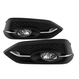 Spyder Oem Style Fog Lights Civic 14-15 2DR EX only