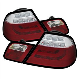 Spyder Tail Light Led BMW 3-Series E46 00-03 2DR