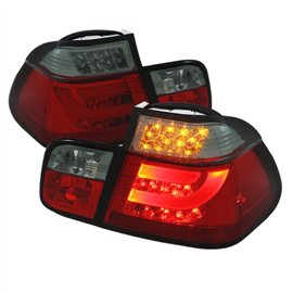 Spyder Tail Light Led BMW 3-Series E46 4DR 99-01