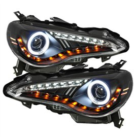Spyder Headlight Projector Halo FR-S 12-14