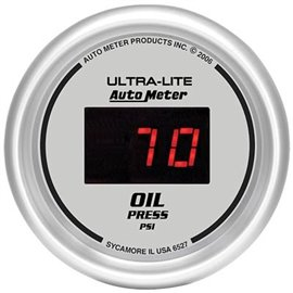 autometer ultra lite oil pressure 0-100psi 52mm electrical