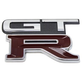 Badge de coffre Nissan Skyline GTR32