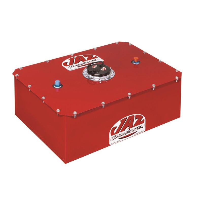 Jaz Universal Fuel Cell - 8 Gal - Red w/Foam - Elegant Drift Shop