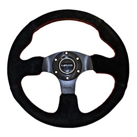 NRG - 320mm Sport Suede Steering Wheel Race