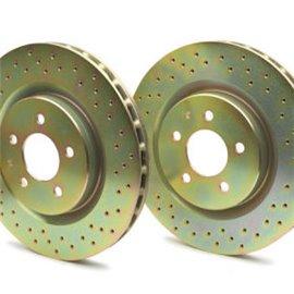 Disques de freins ventilés/percés Nissan Oem pour Skyline R32 GTR Arrière